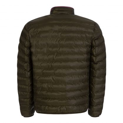 Green Packable Recycled Quilted Jacket