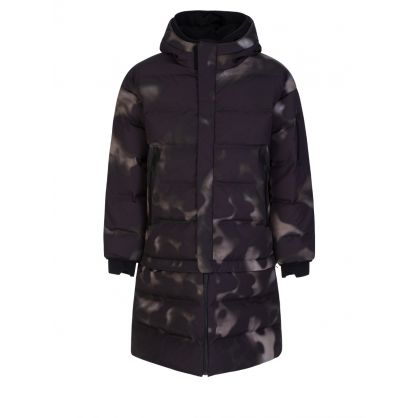Camo Print Nasta Oversized Puffer Coat