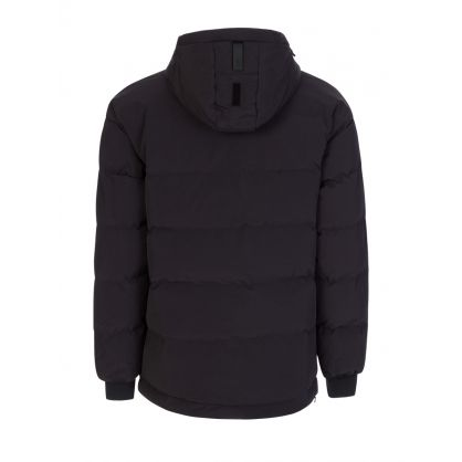 Black 20K Drop Sleeve Puffer Jacket
