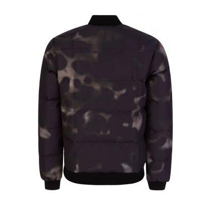 Camo Print Quill Lightweight Bomber Jacket