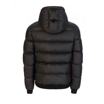 Black Membrane Puffer Jacket