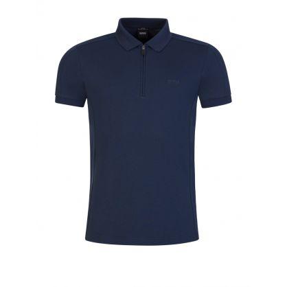 Navy Philix Polo Shirt