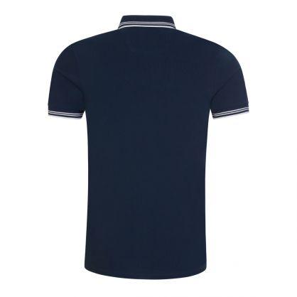 Navy Athleisure Slim-Fit Paul Polo Shirt