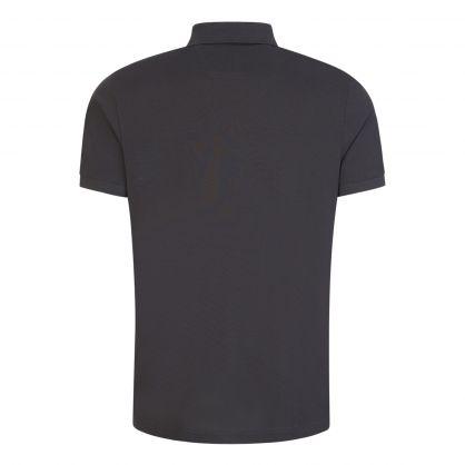 Grey Athleisure Piro Polo Shirt