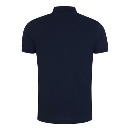 Navy Athleisure Piro Polo Shirt