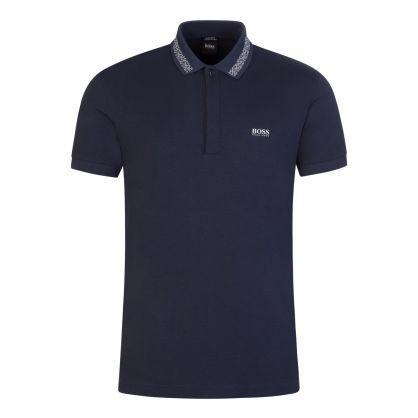 Navy Paddy Polo Shirt
