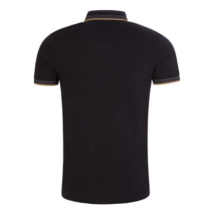 Charcoal Paddy Active Stretch Polo Shirt