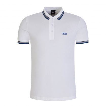 White Paddy Polo Shirt