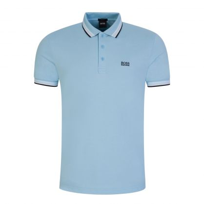 Blue Athleisure Cotton-Piqué Paddy Polo Shirt