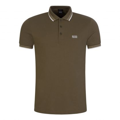Green Athleisure Paddy Polo Shirt