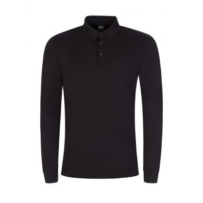 Black Interlock Cotton Pado 11 Polo Shirt