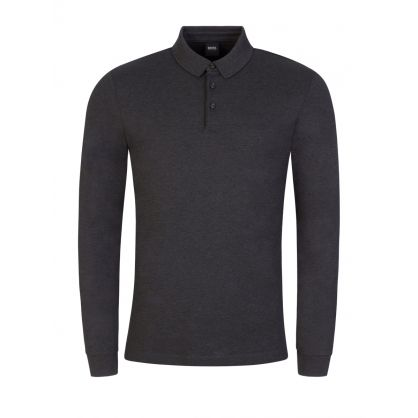 Grey Interlock Cotton Pado 11 Polo Shirt