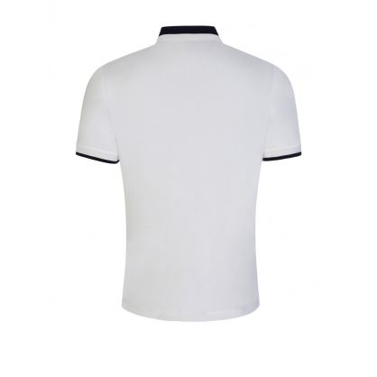 White Parlay 88 Tipped Polo Shirt
