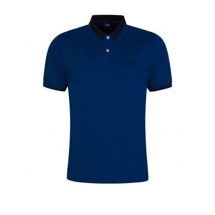 Blue Parlay 88 Polo Shirt