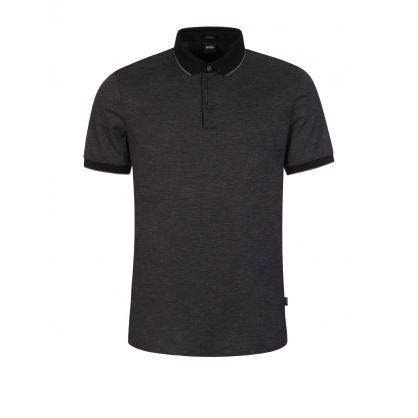 Black Prout 25 Polo Shirt