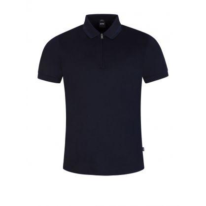 Navy Polston 18 Polo Shirt