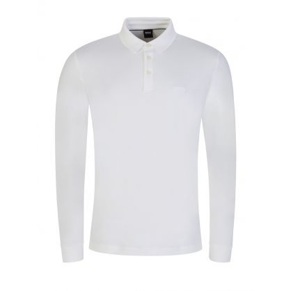 White Pado11 Polo Shirt