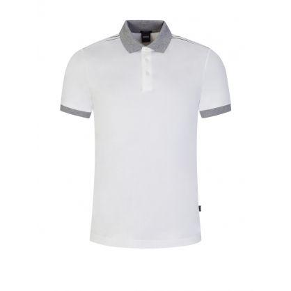 White Parlay 115 Polo Shirt