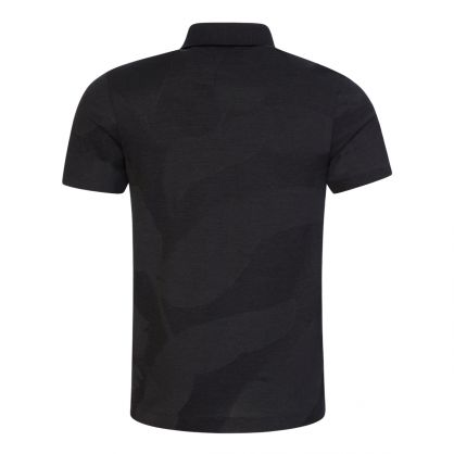 Black Tailored Slim-Fit T-Peterson Polo Shirt