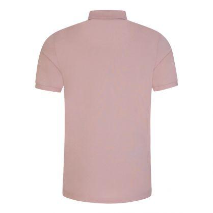 Pastel Pink Pallas Polo Shirt