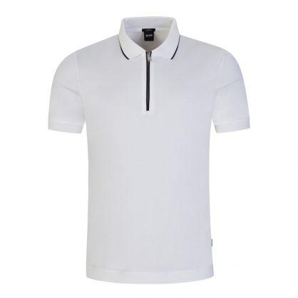 White Polston 22 Polo Shirt