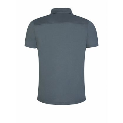 Grey Slim-Fit Dasili Polo Shirt