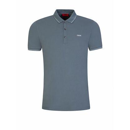 BOSS Grey Dinoso203 Polo Shirt