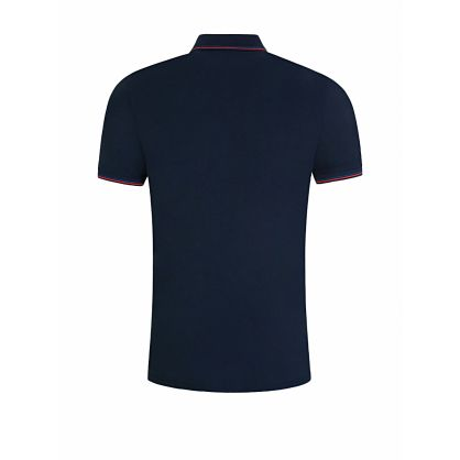 Navy Dinoso203 Polo Shirt