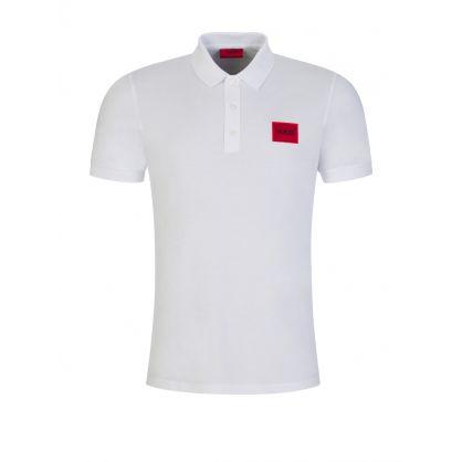 White Dereso Polo Shirt