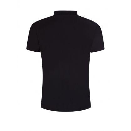 Black Cotton-piqué Dekok Polo Shirt