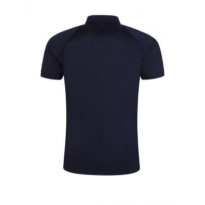 Navy Slim-Fit Dapir Polo Shirt