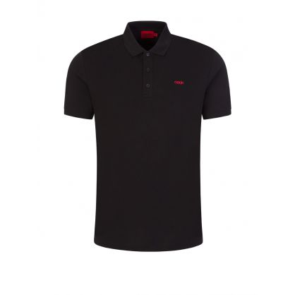 Black Donos212 Polo Shirt