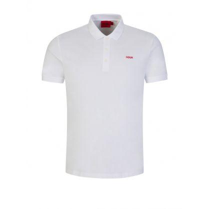 White Donos212 Polo Shirt