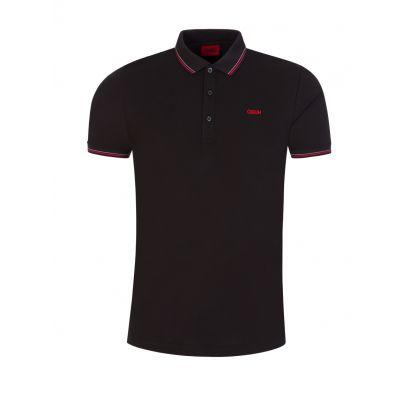 Black Dinoso212 Polo Shirt