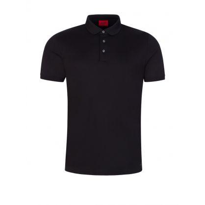Black Slim-Fit Doschinko Polo Shirt