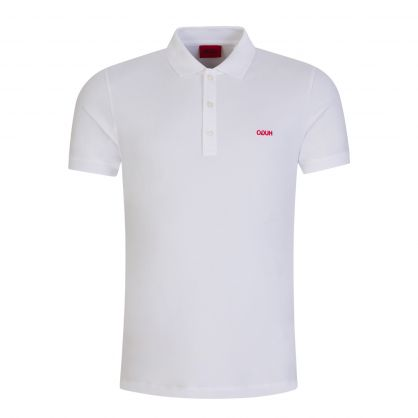 White Slim-Fit Dinos202 Polo Shirt