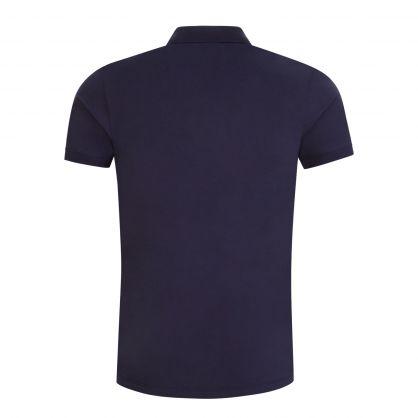 Dark Blue Slim-Fit Dinos202 Polo Shirt