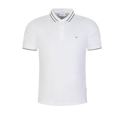White Liquid Touch Polo Shirt
