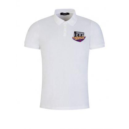 White Canadian Heritage ICON Polo Shirt
