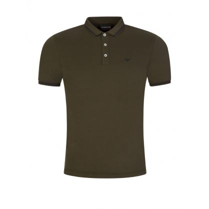 Green Tipped Polo Shirt