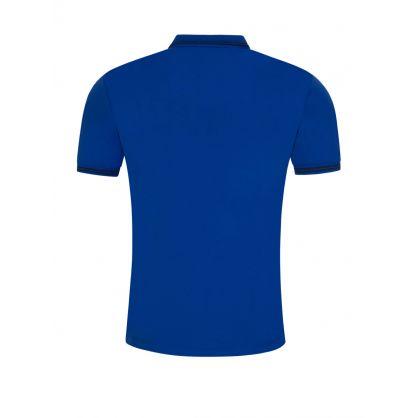 Blue Tipped Polo Shirt