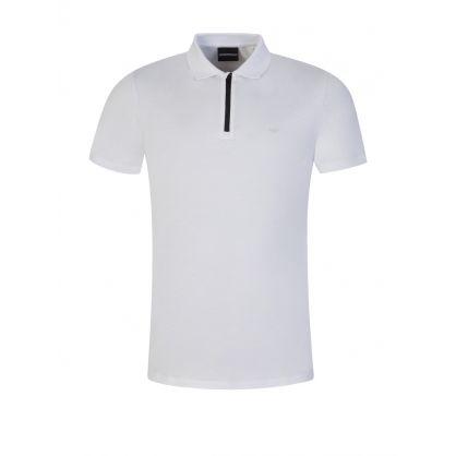 White Travel Essential Polo Shirt