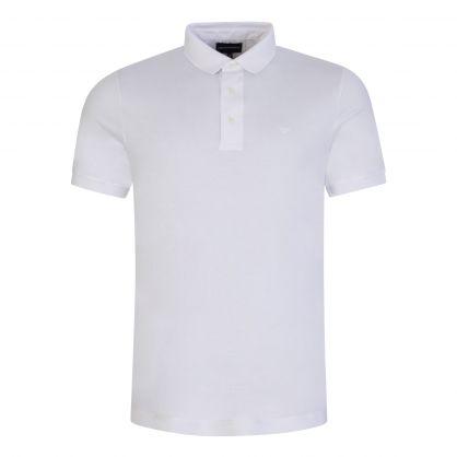White Essential Logo Polo Shirt