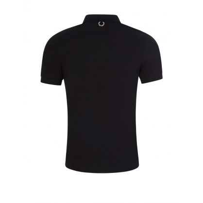 Black Laurel Wreath Pin Polo Shirt
