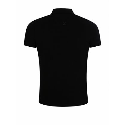 Black Tiger Crest Polo Shirt