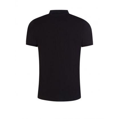 Black Cross Logo Polo Shirt