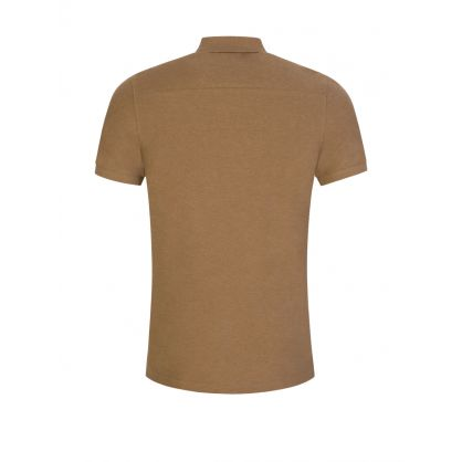 Beige Clean Pique Troy Polo Shirt