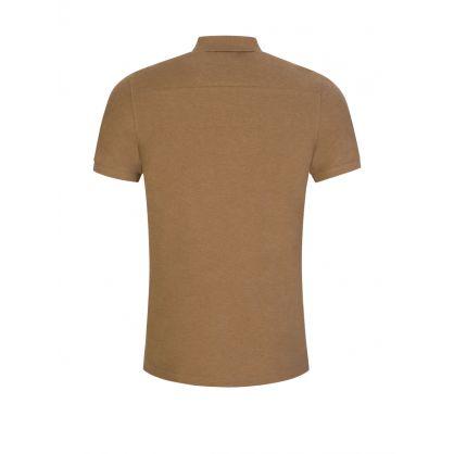 Beige Clean Pique Troy Polo Shirt