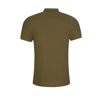 Green Clean Pique Troy Polo Shirt