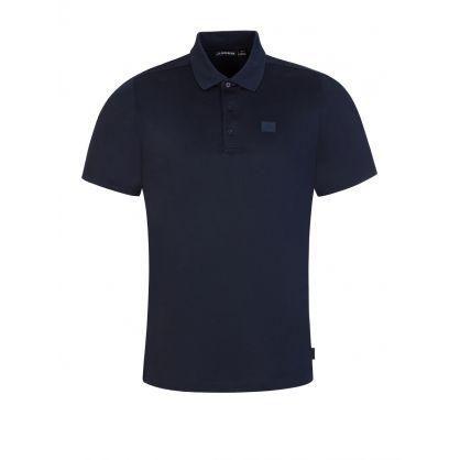 Navy Miles Jersey Polo Shirt